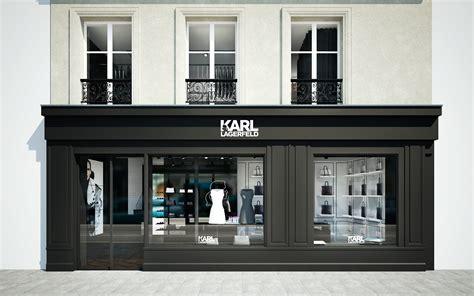 karl lagerfeld launches   store  le marais paris