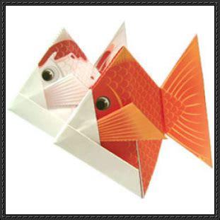 Canon Origami - canon papercraft goldfish origami free