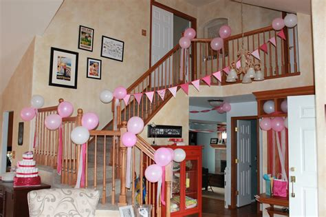 welcome home decoration ideas peach stitches oh baby showers galore