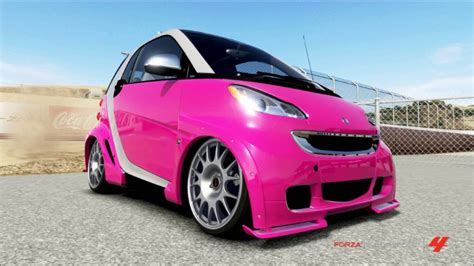 hellaflush smart car forza motorsport 4 custom hellaflush cars youtube