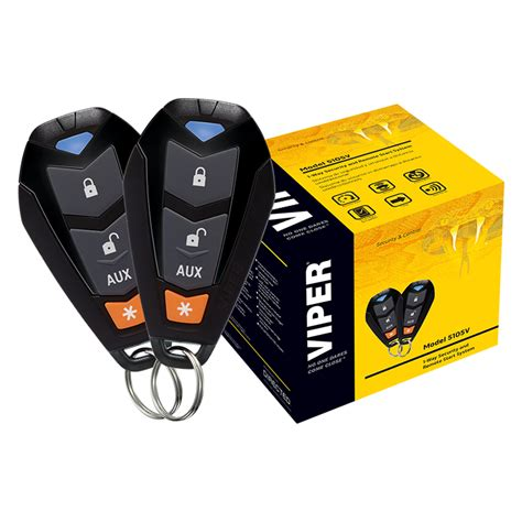 Alarm Viper viper entry level 1 way security and remote start system