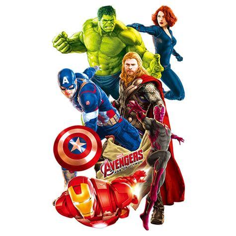 super hero avengers hulk wall stickers peel and stick wall