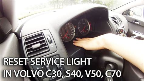 how to fix cars 2006 volvo s60 instrument cluster volvo reset service reminder indicator mr fix info