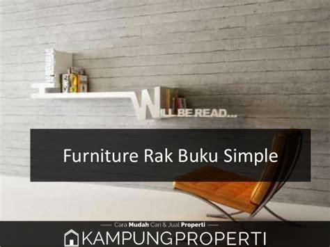 Rak Buku Simple jual distributor supplier pabrik furniture rak buku