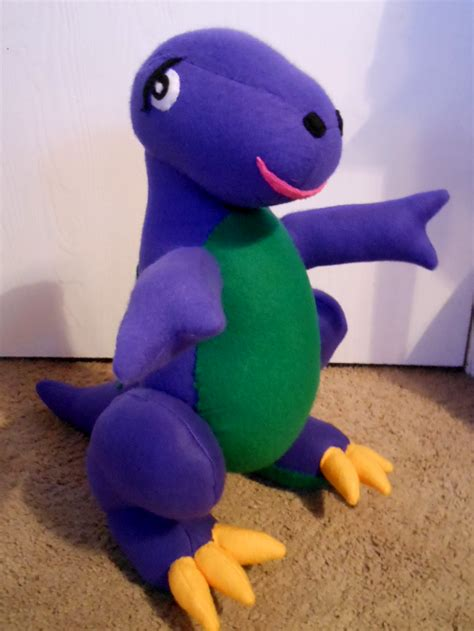 barney and the backyard gang doll barney by fuzzyaliens on deviantart