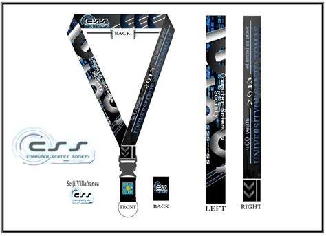 Css Ust Lanyard Design By Seijiv10 On Deviantart Lanyard Design Template
