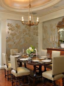 Wallpaper Designs For Dining Room Dining Room Wallpaper Home Design Ideas Pictures Remodel And Decor