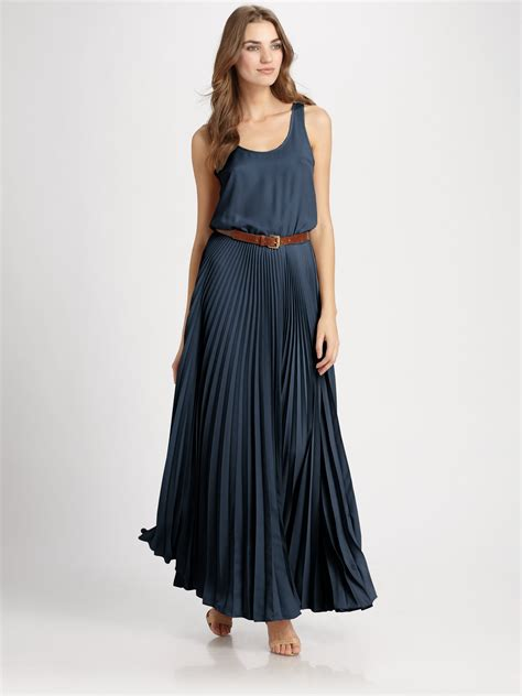 Mira Dress Dress Longdress Dress Terbaru Maxi Dress michael michael kors racerback maxi dress in blue lyst