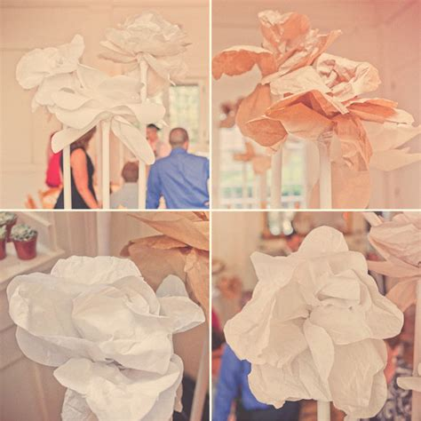 How To Make Large Paper Flowers For Wedding - handmade connecticut wedding rob green