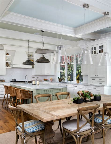 Lighting Above Kitchen Table In Search Of The Kitchen Table Town Country Living