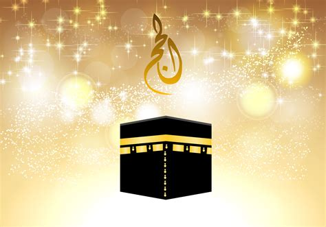 umrah greeting cards templates mecca free vector 1808 free downloads