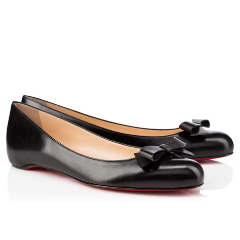bottom shoes cheap christian louboutin simplenodo flat leather
