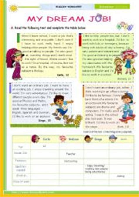 home and careers lesson plans english teaching worksheets jobs