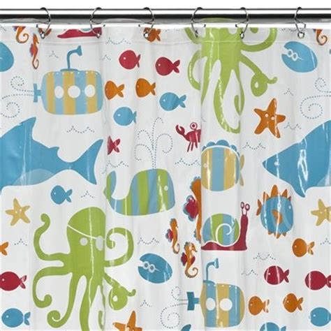fishing themed shower curtains the shower curtain we chose circo sealife shower curtain