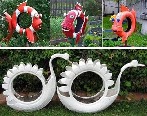 garden decoration recycled 17 best images about diy made of tires on