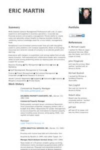 Commercial Manager Sle Resume by Property Manager Resume Sles Visualcv Resume Sles Database