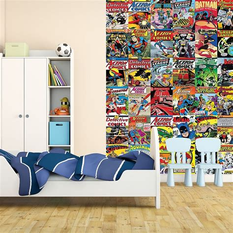comic bedroom ideas marvel comics and avengers wallpaper wall murals d 201 cor