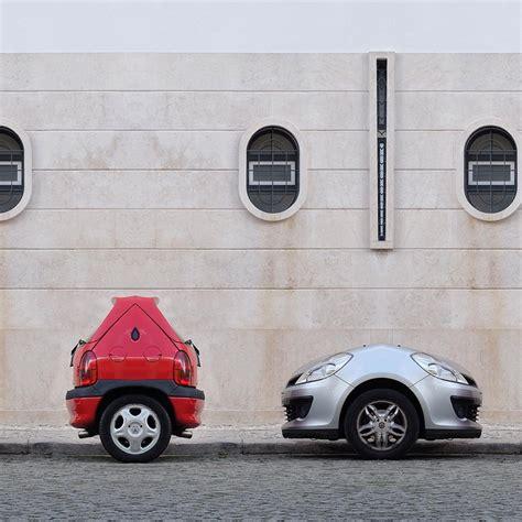 tiny tiny jos 233 quintela turns ordinary parked vehicles into surreal