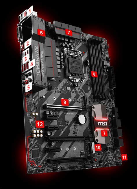 Ready Stok Msi Z270 Krait Gaming By Wpg Msi Z270 Tomahawk Lga1151 4 Ddr4 3 Pci E 6 Sata3 2 M2 2