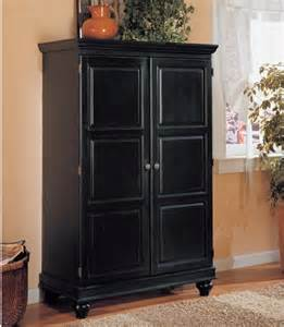 Modern Computer Armoire Computer Armoire Black Modern Storage Cabinets By Hayneedle