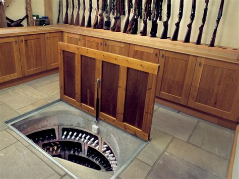 Secret Gun Room by Your Own Secret Basement Wine Cellar With Trap Door Entry