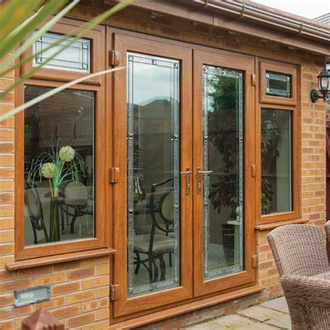 Timber Patio Doors Windows And Doors Timber Effect Beaumont Inspire