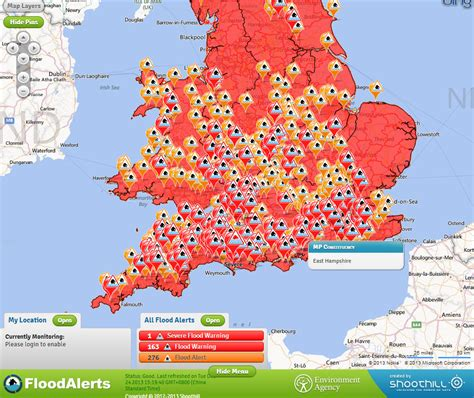 map uk interactive interactive flood warnings map for united kingdom see