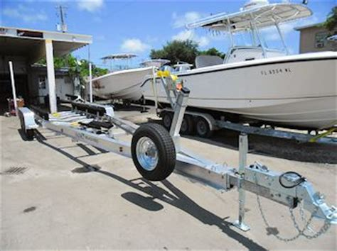 angled boat trailer fenders new sea tech custom aluminum boat trailers for sale 866