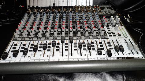 Mixer Behringer Xenyx 2222fx behringer xenyx 2222fx image 591424 audiofanzine