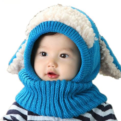 toddler winter hats baby toddler boys hat winter warm knitted sheep