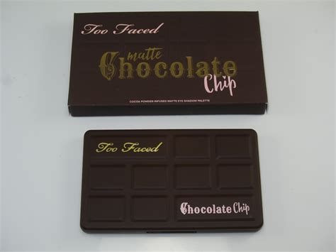 Faced Matte Chocolate Chip Original faced matte chocolate chip eyeshadow palette review swatches and cosmetics