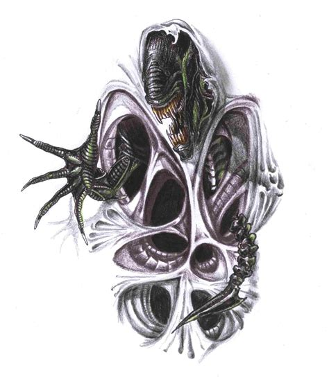 small biomechanical tattoos small biomechanical drawings search