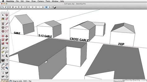 tutorial sketchup follow me sketchup 2013 tutorial using follow me complex roof