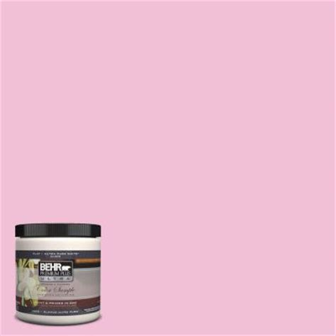 behr premium plus ultra 8 oz 100b 4 pink chintz interior exterior paint sle 100b 4u the
