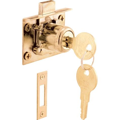 cabinet and drawer locks prime line 1 25 mortise drawer and cabinet lock u 10666