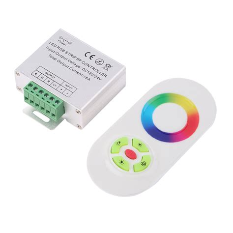 Wireless Led Light Strips Aliexpress Buy 2016 New Wireless Rf Smd Rgb Led Light Touch Dimmer Remotely