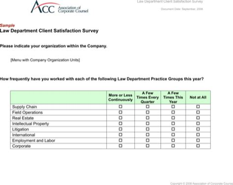 client study template client satisfaction survey templates for excel pdf and word