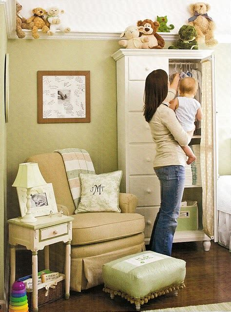 home sweet home gender neutral nursery