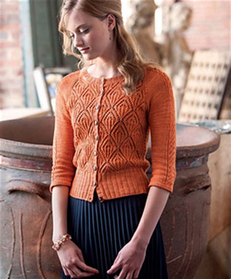the pattern library down ravelry lace cardigan pattern by simona merchant dest