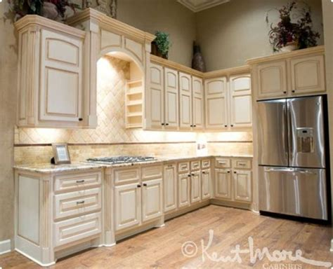 how to paint stained kitchen cabinets white less glazing custom kitchen cabinets by kent moore cabinets maple wood with frosty white stain