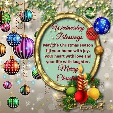 wednesday blessings merry christmas pictures