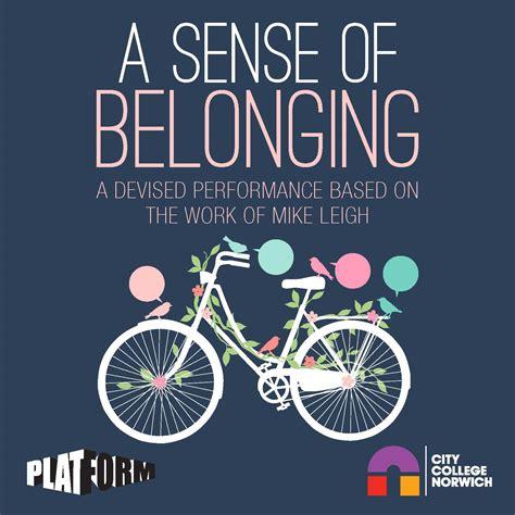 the sense of an buy a sense of belonging tickets a sense of belonging tour details a sense of belonging