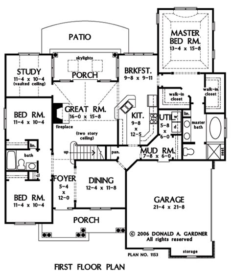 kris jenner house floor plan home plan the valmead park by donald a gardner architects