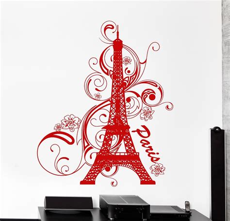 home furnishings store st louis ooh lala wall vinyl decal paris eiffel tower france amazing