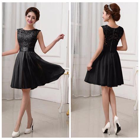 chiffon hairstyle 2016 chiffon summer style dress black lace women formal