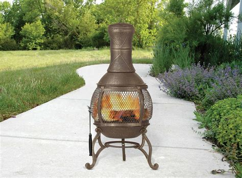 Best Wood For Chiminea Our Review Of The 5 Best Cast Iron Chimineas