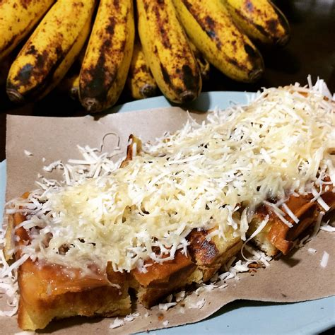 Butter Toast Roti Bakar chocolate cheese banana batamliciouz