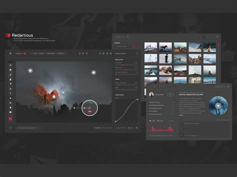 ui design editor 20 beautiful dark ui concepts for design inspiration