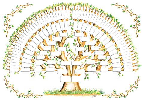 ancestor tree template genea murgia s family tree gallery