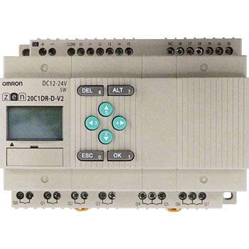 Omron Zen 20c1dr D V2 1 zen 20c1dr d v2 標準lcdタイプcpuユニットzen 1台 オムロン omron 通販モノタロウ 35502695